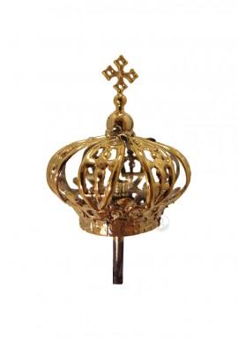 Corona para Nuestra Señora de Fátima 40cm, Plástico