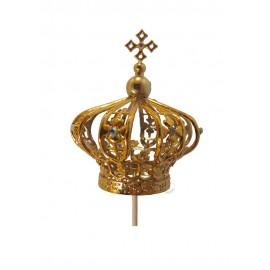 Coroa para Nossa Senhora de Fátima 60cm, Plástico