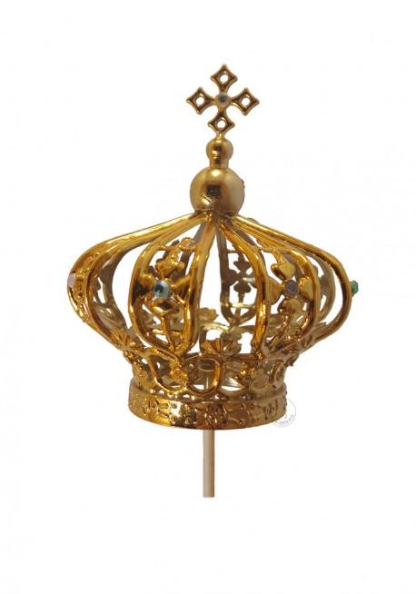 Coroa para Nossa Senhora de Fátima 60cm a 70cm, Plástico