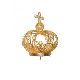 Corona para Nuestra Señora de Fátima 60cm a 73cm, Filigrana