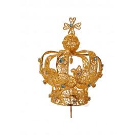 Coroa para Nossa Senhora de Fátima 70cm a 120cm, Filigrana