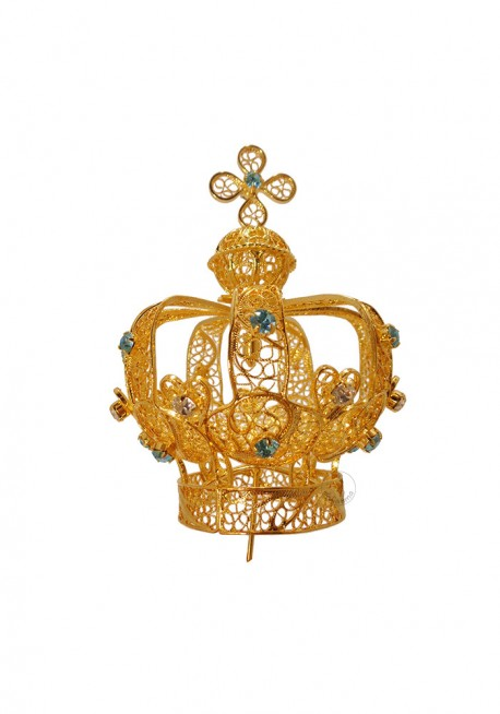 Coroa para Nossa Senhora de Fátima 80cm a 100cm, Filigrana