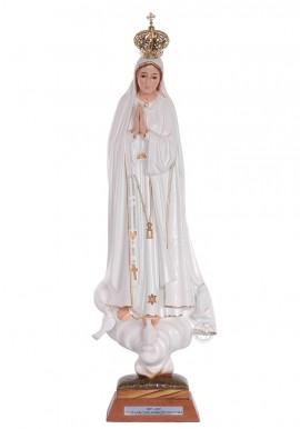 Our Lady of Fatima, Centennial w/ Crystal Eyes 45cm
