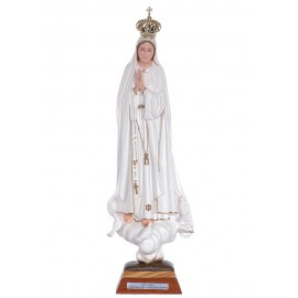 Our Lady of Fatima, Centennial w/ Painted Eyes 45cm