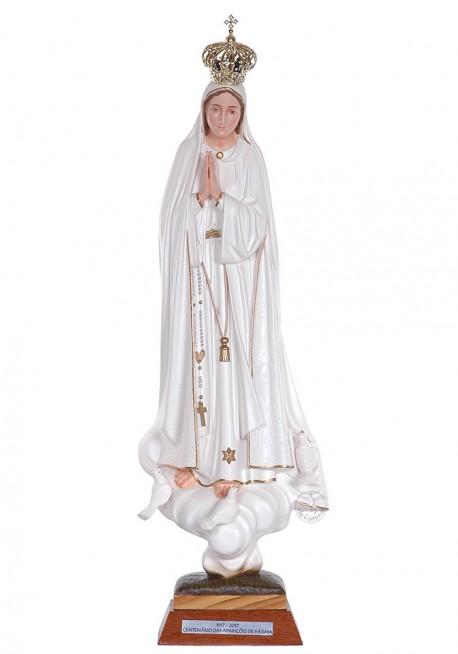 Nuestra Señora de Fátima, Centenario con Ojos Pintados 45cm