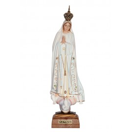 Our Lady of Fátima, Classic w/ Painted Eyes