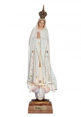 Nuestra Señora de Fátima, Clásica con Ojos Pintados 45 cm