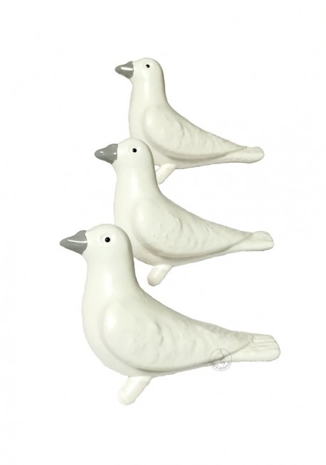 Dove for statues with 11cm to 22cm