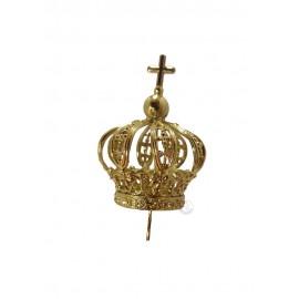 Coroa para Nossa Senhora de Fátima 30cm, Plástico