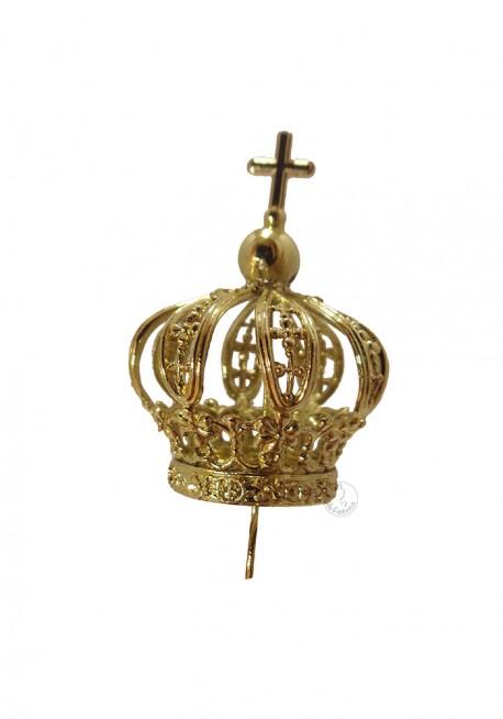 Coroa para Nossa Senhora de Fátima 25cm a 30cm, Plástico