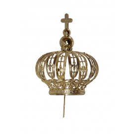 Crown for Our Lady of Fatima, 50cm to 60cm, plastic