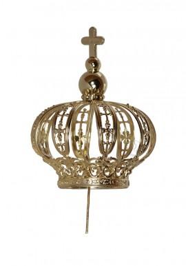 Coroa para Nossa Senhora de Fátima 50cm, Plástico