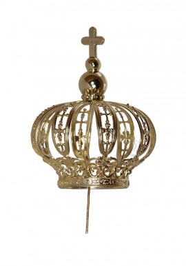 Crown for Our Lady of Fatima 50cm, plastic