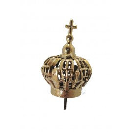 Coroa para Nossa Senhora de Fátima 25cm, Plástico