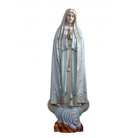 Nossa Senhora de Fátima Capelinha em Madeira 105cm