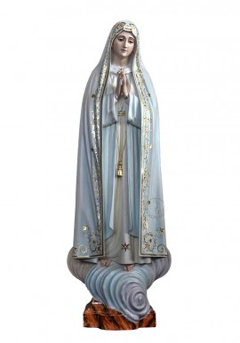 Our Lady of Fatima Capelinha, in Wood 105cm
