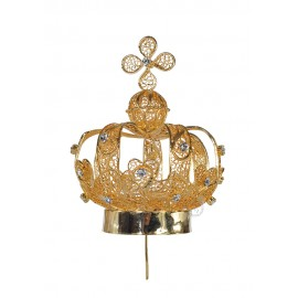 Crown for Our Lady of Fatima, 80cm to 120cm, Filigree