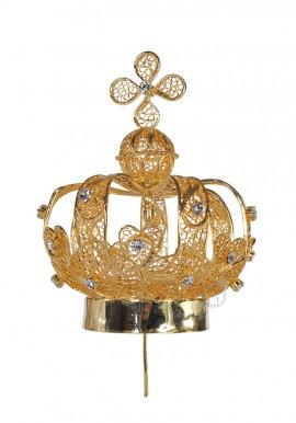 Corona para Nuestra Señora de Fátima 80cm a 120cm, Filigrana