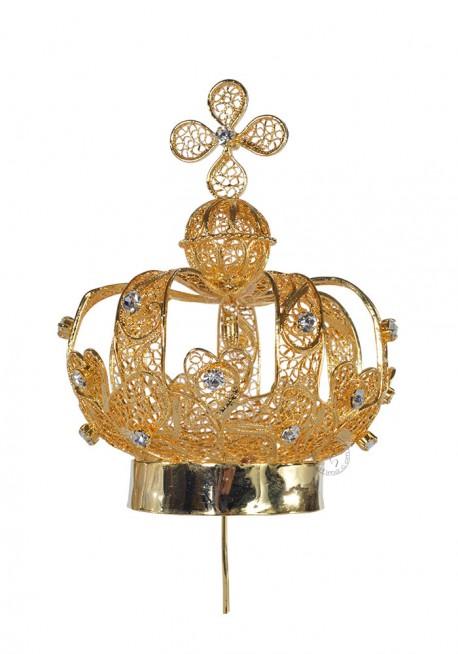 Coroa para Nossa Senhora de Fátima 80cm a 120cm, Filigrana
