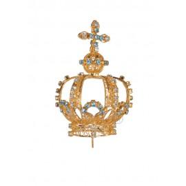 Coroa para Nossa Senhora de Fátima 50cm a 64cm, Filigrana (Rica)