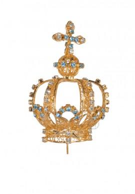 Coroa para Nossa Senhora de Fátima 53cm a 64cm, Filigrana (Rica)