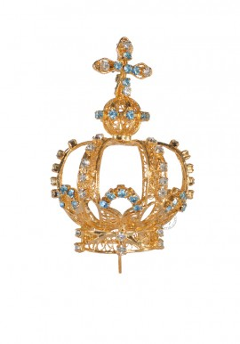 Corona para Nuestra Señora de Fátima 53cm a 64cm, Filigrana (Rica)