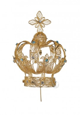 Crown for Our Lady of Fatima, 100cm to 120cm, Filigree