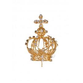 Coroa para Nossa Senhora de Fátima 50cm a 60cm, Filigrana (Rica)