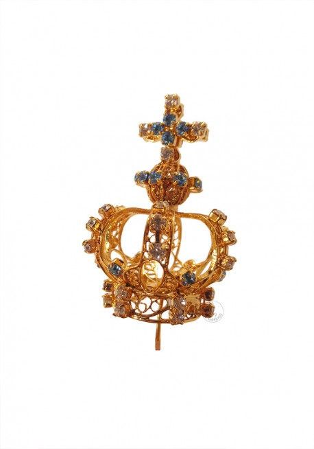 Crown for Our Lady of Fatima, 50cm to 64cm, Filigree (Rich)