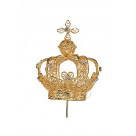 Coroa para Nossa Senhora de Fátima 64cm a 73cm, Filigrana