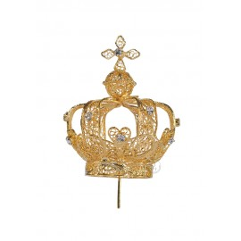 Crown for Our Lady of Fatima, 60cm to 73cm, Filigree