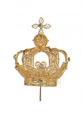 Crown for Our Lady of Fatima, 64cm to 73cm, Filigree