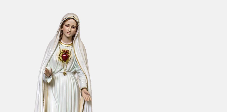 Loja Online onde pode comprar Imagens, Esculturas, Estátuas e Estatuetas de Nossa Senhora de Fátima